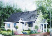 Plan Number 65044 - 1106 Square Feet