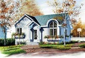 Plan Number 65048 - 947 Square Feet