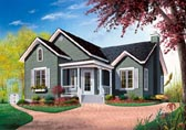 Plan Number 65050 - 1006 Square Feet