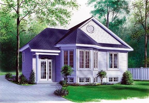 Victorian House Plan 65061 Elevation