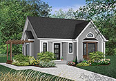 Plan Number 65064 - 1262 Square Feet