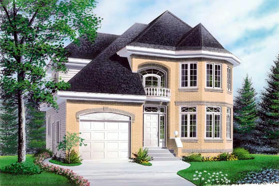 Victorian House Plan 65066 Elevation