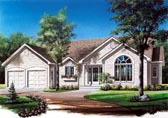 Plan Number 65077 - 1504 Square Feet