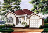 Plan Number 65078 - 1282 Square Feet