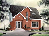 Plan Number 65082 - 1292 Square Feet