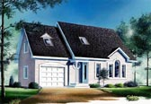 Plan Number 65101 - 1558 Square Feet