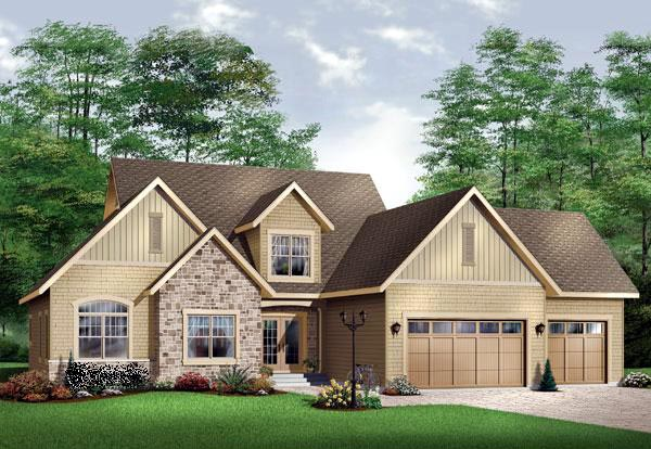 Traditional House Plan 65105 Elevation