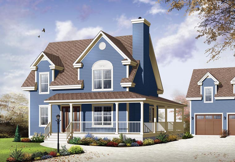 Country House Plan 65106 Elevation