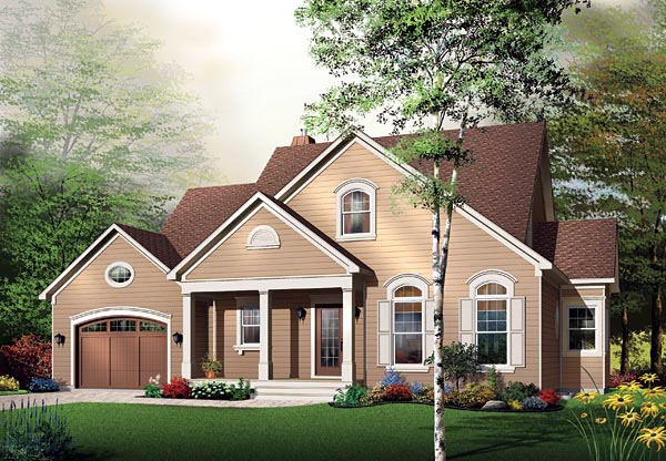 Traditional House Plan 65108 Elevation