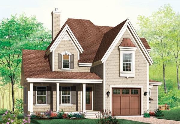Victorian House Plan 65109 Elevation