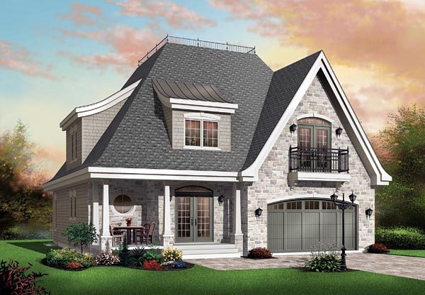 Victorian House Plan 65112 Elevation