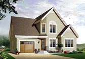 Plan Number 65114 - 1495 Square Feet