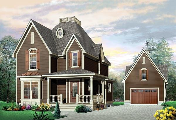 Victorian House Plan 65119 Elevation
