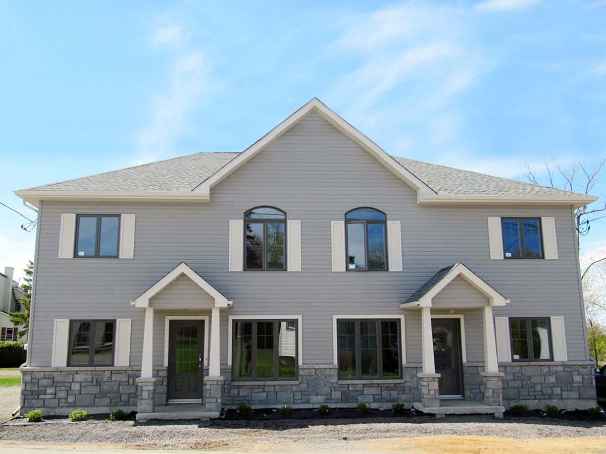 Country, Traditional Multi-Family Plan 65130 with 8 Beds, 4 Baths Picture 1