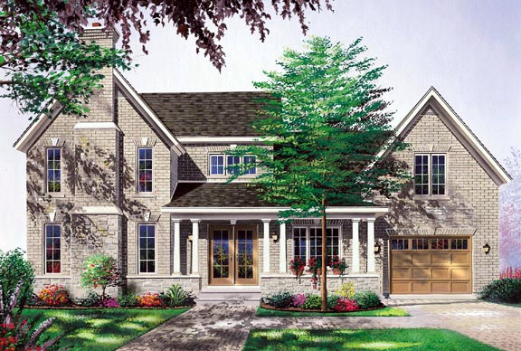 Traditional House Plan 65133 Elevation