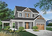 Plan Number 65134 - 1304 Square Feet