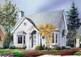 Plan Number 65140 - 1311 Square Feet
