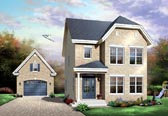 Plan Number 65148 - 1501 Square Feet