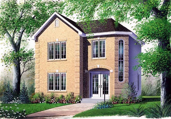 Contemporary House Plan 65149 Elevation