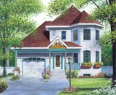 Plan Number 65196 - 1518 Square Feet