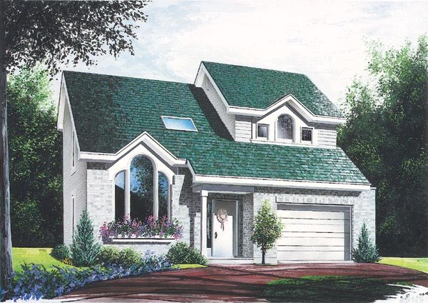 Contemporary House Plan 65198 Elevation
