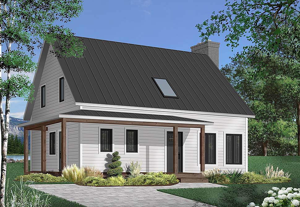 Cape Cod Country House Plan 65199 Elevation