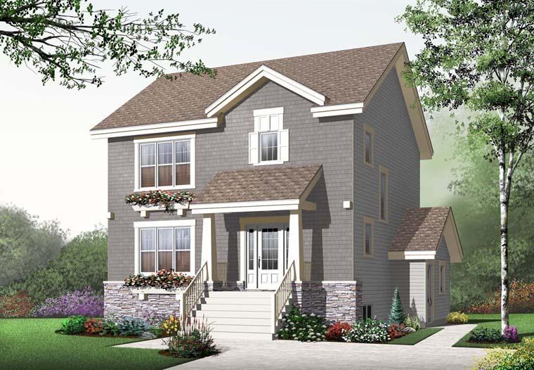 Craftsman House Plan 65201 Elevation