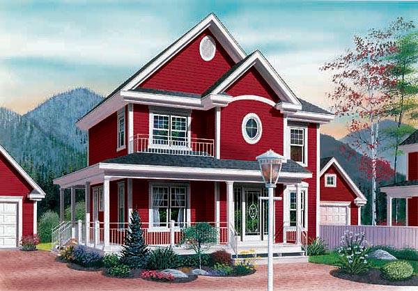 Country House Plan 65295 Elevation