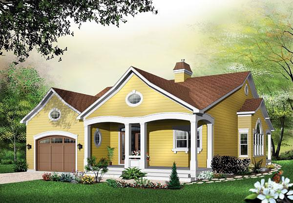 Traditional House Plan 65343 Elevation