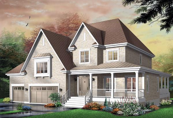 Country House Plan 65355 Elevation