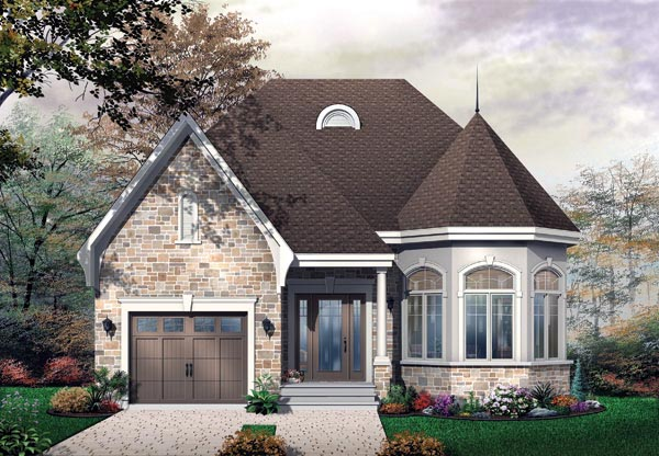 Victorian House Plan 65356 Elevation