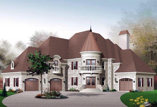 Victorian House Plan 65361 Elevation
