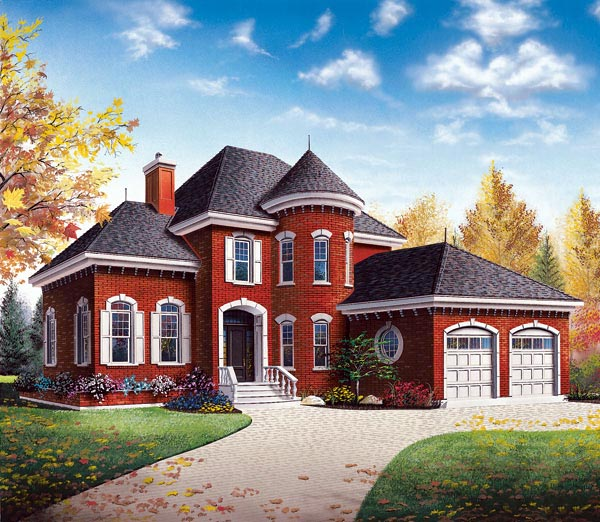 Victorian House Plan 65365 Elevation