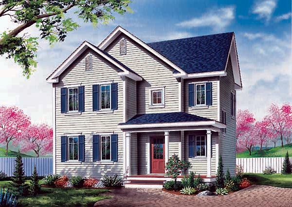 Colonial Southern House Plan 65373 Elevation