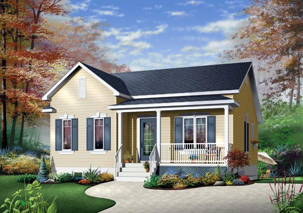 Ranch House Plan 65400 Elevation