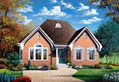 Plan Number 65401 - 1109 Square Feet