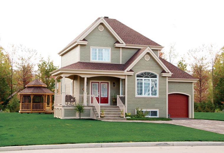 Country House Plan 65418 with 3 Beds, 2 Baths, 1 Car Garage Picture 7