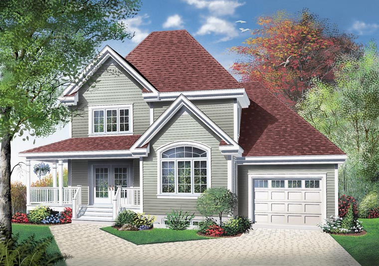 Country House Plan 65418 with 3 Beds, 2 Baths, 1 Car Garage Picture 9