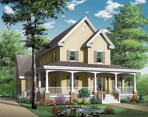 Southern House Plan 65423