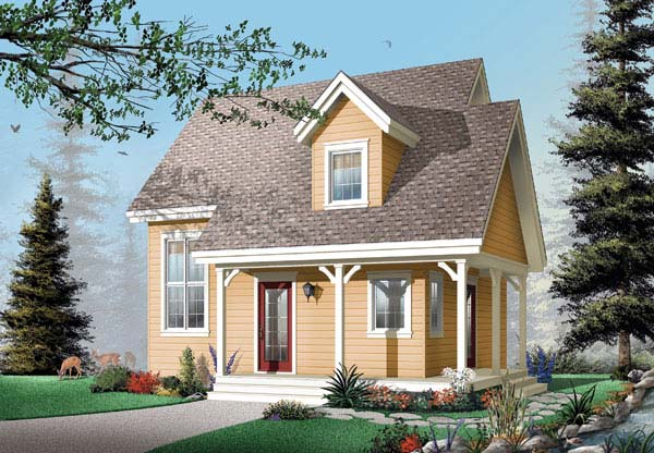 Country House Plan 65450 Elevation