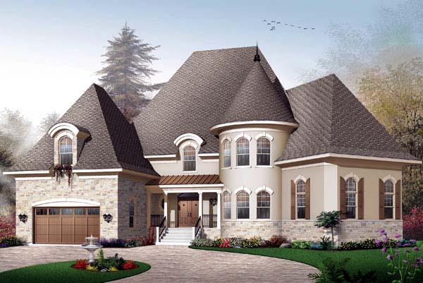 House plan 65457 at family home plans for Brinkley manor apartments floor plans