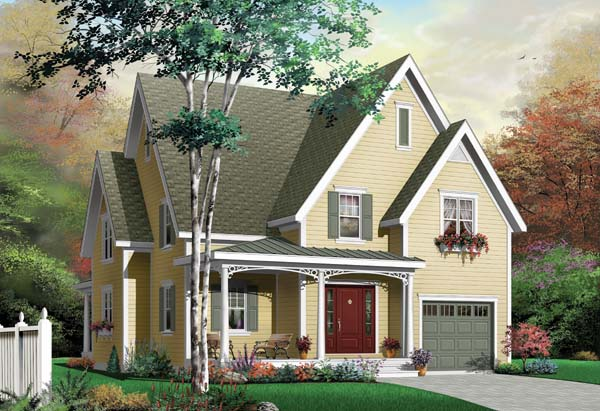 Country European Traditional House Plan 65486 Elevation