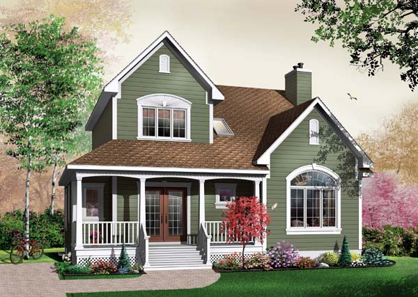 Country House Plan 65490 Elevation