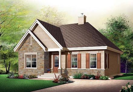 House Plan 65521