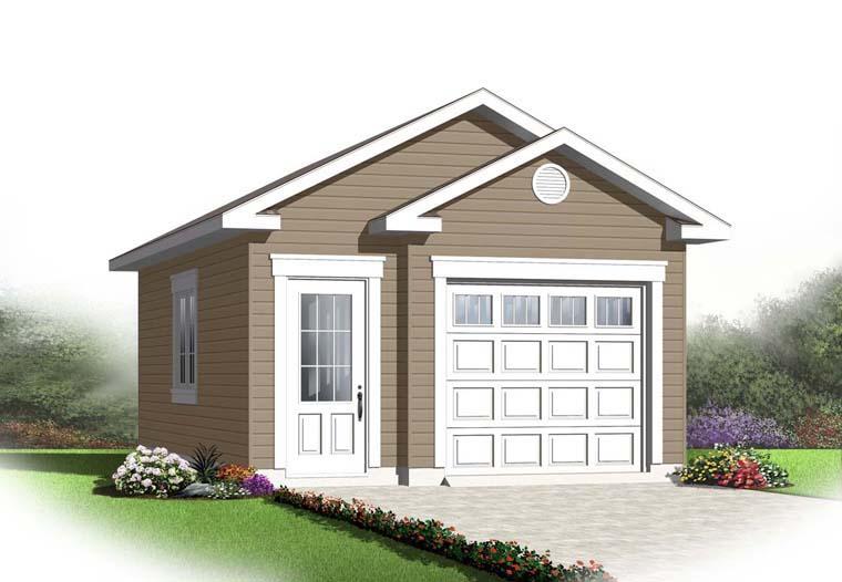 Garage Plan 65525 Elevation