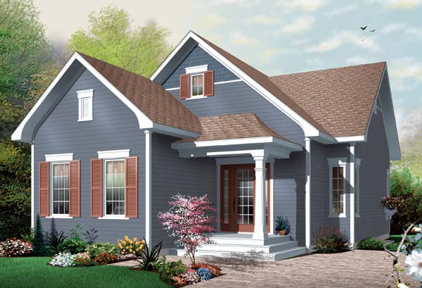 Bungalow House Plan 65536 Elevation