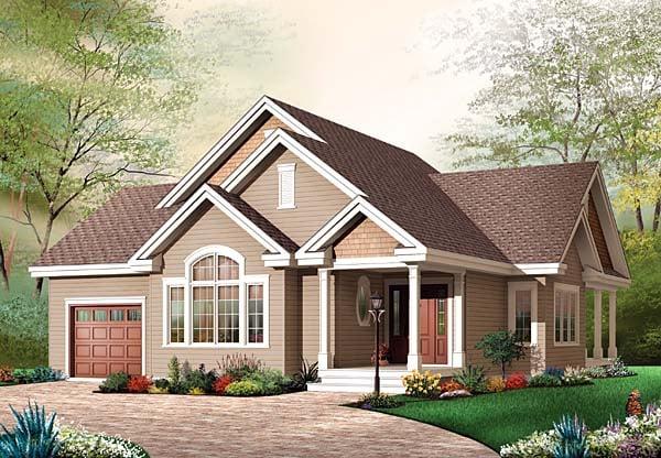 Bungalow House Plan 65540 Elevation