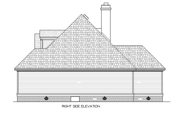 European, One-Story House Plan 65616 with 3 Beds, 3 Baths, 2 Car Garage Picture 2