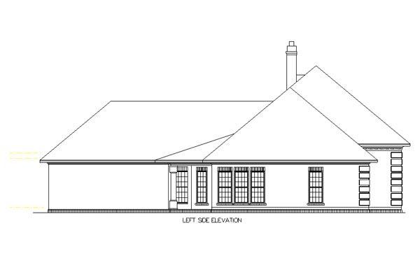 European House Plan 65630