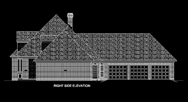 European, One-Story House Plan 65632 with 4 Beds, 4 Baths, 3 Car Garage Picture 2